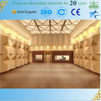 2016 New Gypsum GRG Waterproof Baseboard for Concert Hall