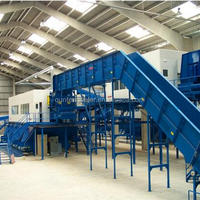 Automatic Municipal Waste Recycling Plant Urban