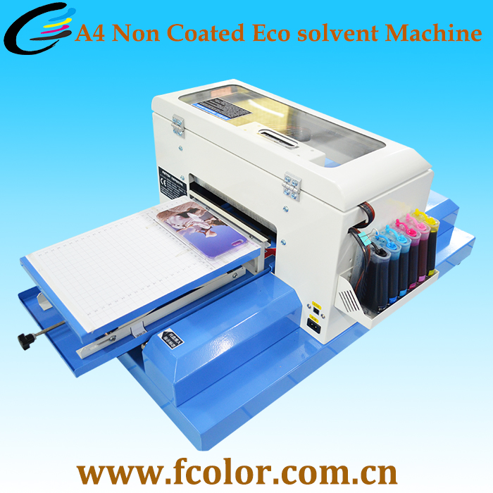 Phone Case Direct Printing Digital Flatbed A4 Mobile Mini Printer