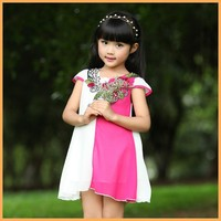 2015 new style casual dress designs for pakistani girls, baby girl party dress children frocks designs