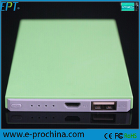 New Products 4000MAH mobile phone cheap power bank slim (EP049-2)