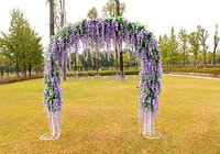 Hanging Plant DIY Home Party Wedding Garden Decor Artificial Flowers