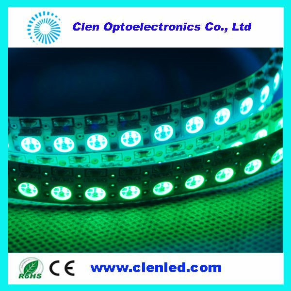 ws2812 led strip ws2812b ws2811 led 5050 RGB tape 32LEDs/ Meter,SMD5050 RGB,addressable LED strip,color programmable,Digital