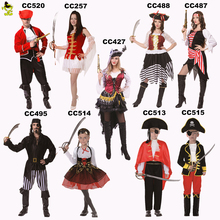Halloween costume adult and kids pirate costume cosplay dress party costumes