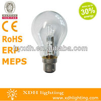 A60 B22 high quality ECO halogen energy saving lighting lamp