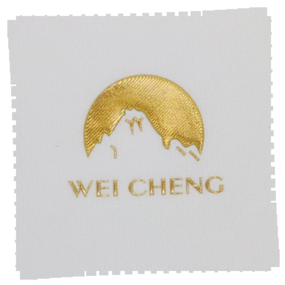 Fancy Logo Printing Fashion Iron on Heat Transfer TPU Patch