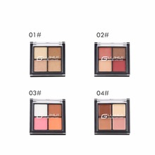 New 4 colour eye shadow <strong>cosmetic</strong> case wholesale eyeshadow skin colour
