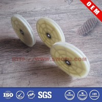 Nylon plastic toy wheel