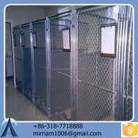 Large outdoor comfortable fashionable high quality folding galvanized powder coating dog cages/kennels/pet houses