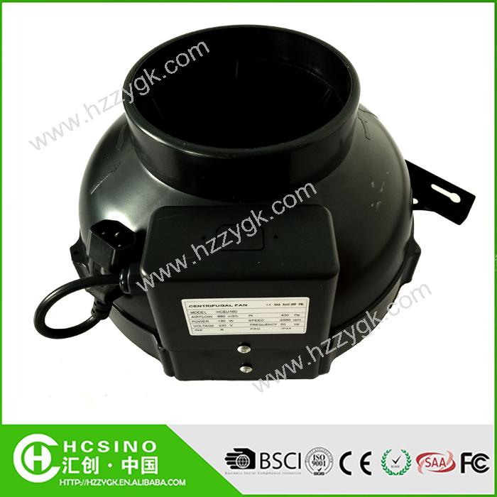 High Heat Inline Fan : Hydroponic inline fan duct high temperature