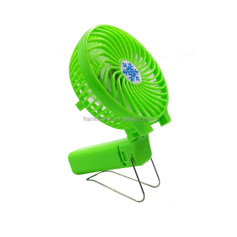 Foldable mini hand fans battery operated fans portable fan for car use