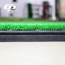 3D hitting teaching artificial lawn practice turf golf swing mat for sale