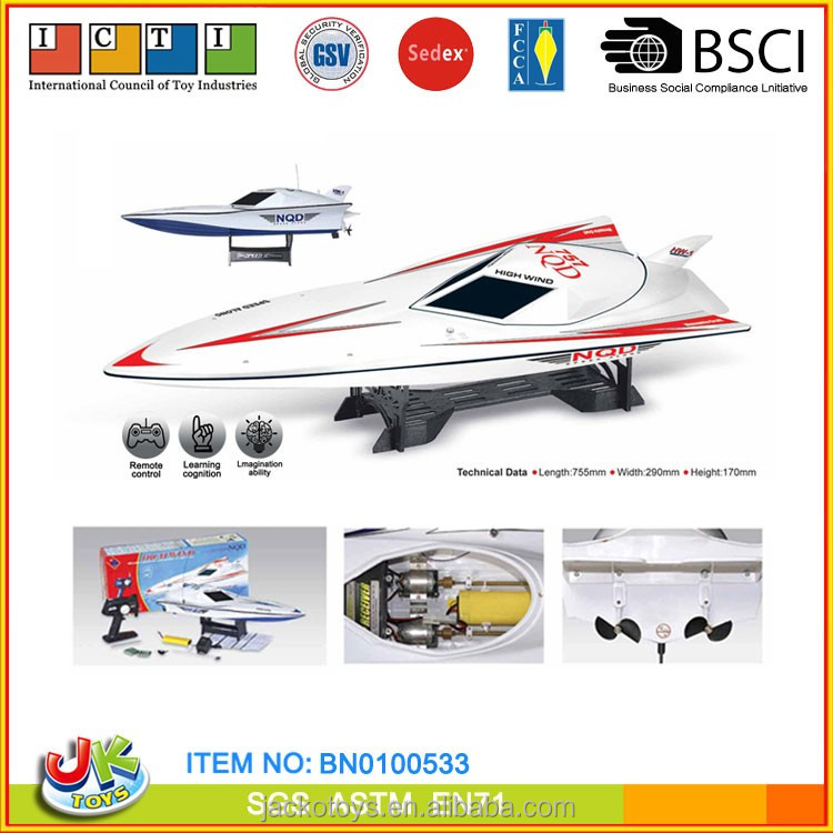 1:16 Scale radio control mosquito craft 757 nqd rc boat