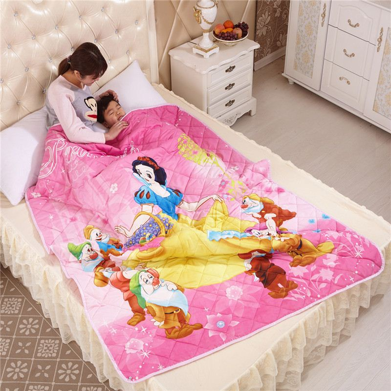 100% Polyester child comforter set summer seasons 150*200 beautiful goodliness quilt comfortable