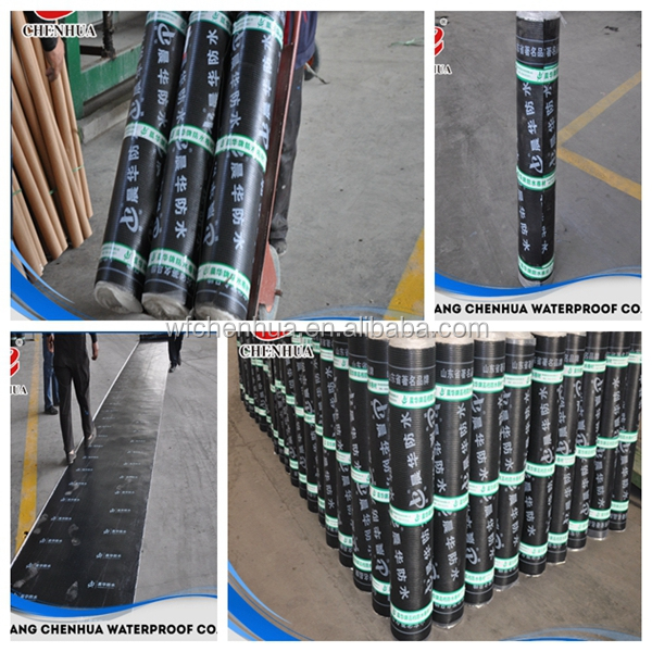 underlayment SBS modified asphalt building wall waterproof membrane