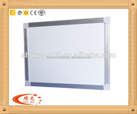 classroom writing white board standard size classroom white board with aluminum frame
