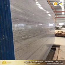 Chinese popular wood grain blue wood marble