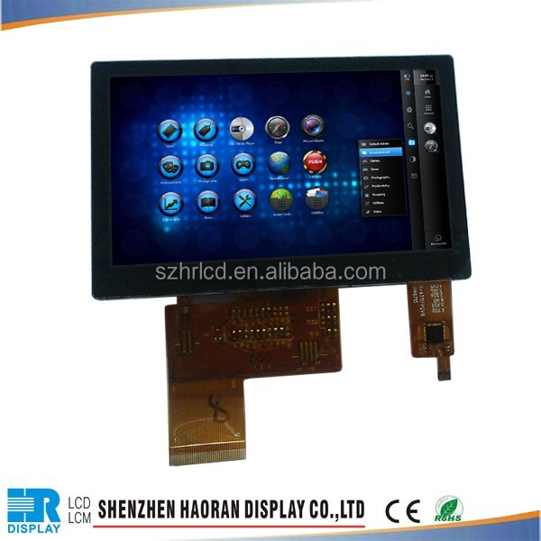 4.3inch High Resolution + Screen Display + TFT LCD Monitor + Control Board