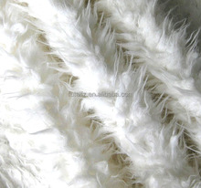 china wholesale silky furry fleece fabric for home textiles