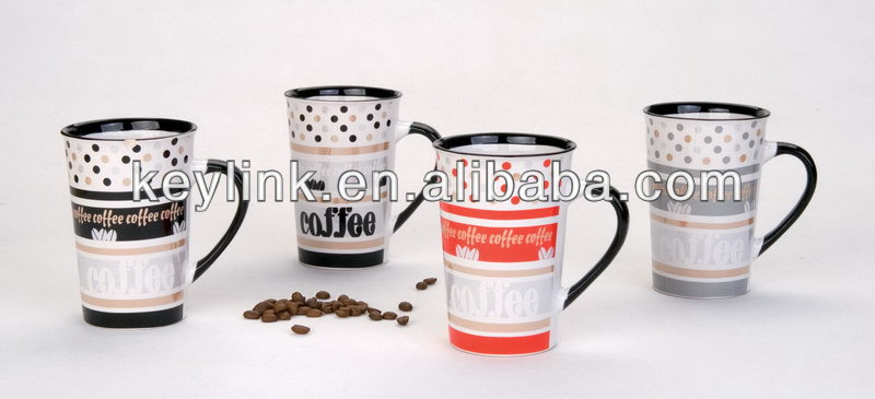 Newest novelty hand painting dots coffee cups