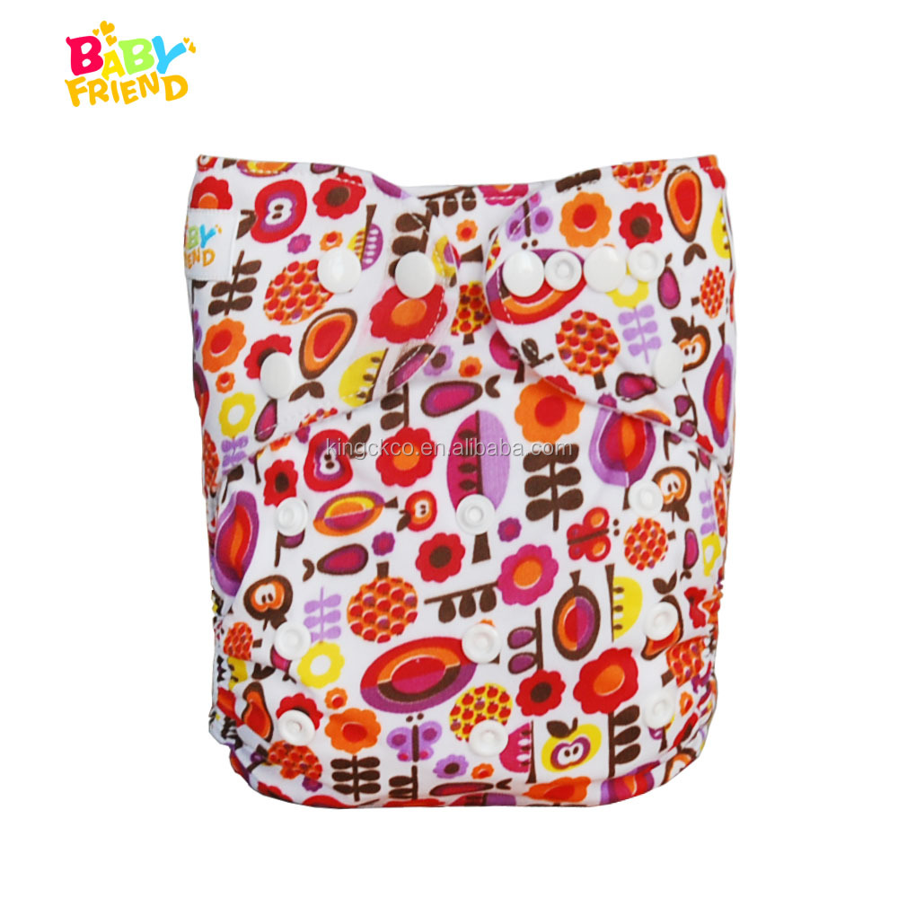 High Quality Super Absorbent Reusable Baby Cloth Diapers