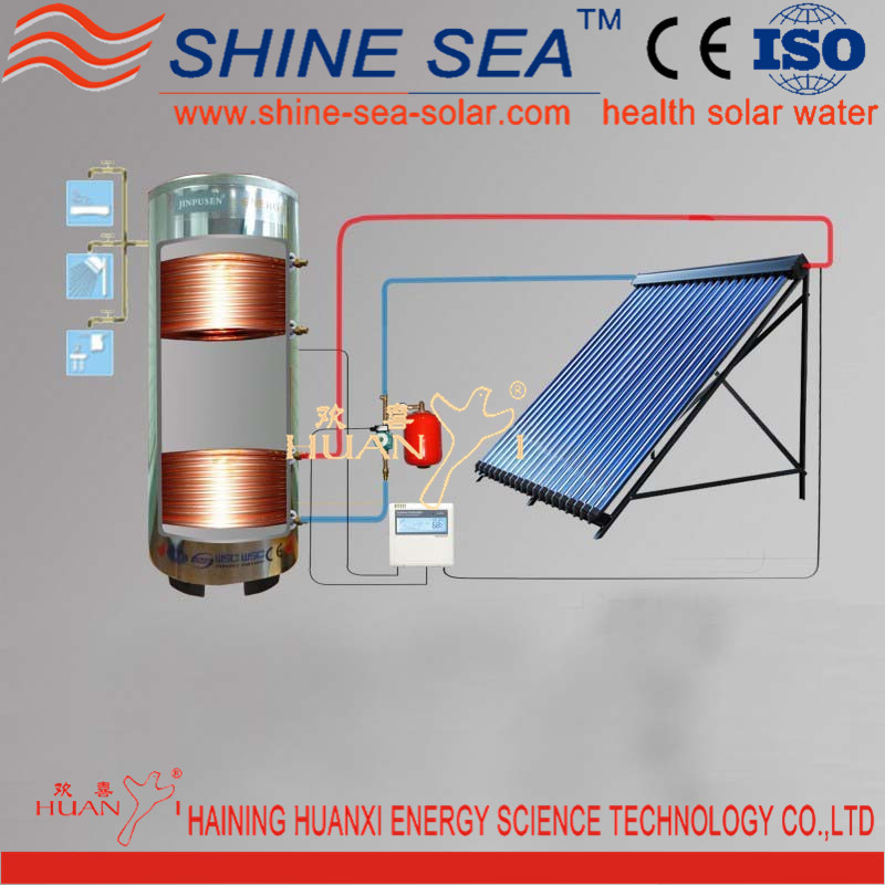 Wholesale solar hot water heating systems online buy for Which heating system is best