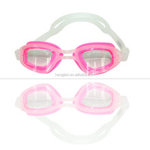 2016 newest design fashional ladies swimming goggles/glasses with power