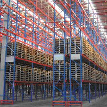 Multi-tier powder coating Steel Q235 Heavy duty durable industrial stackable pallet <strong>rack</strong>