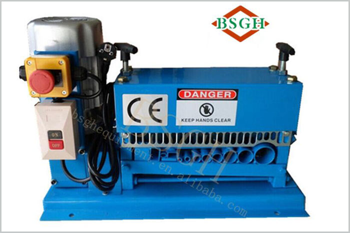 Multi-function Scrap Electric Wire Stripper /scrap cable cutting stripping recycling machine for sale