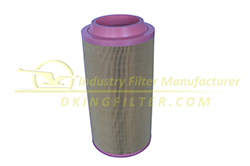 0.3 micron industrial air filter element for generator air filter