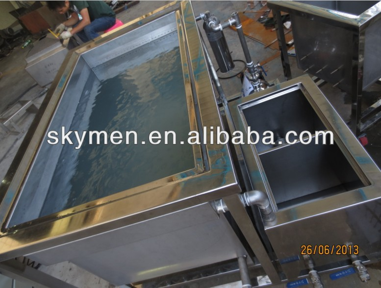 skymen industrial sized ultrasonic cleaning machine for remove oil, grease