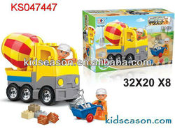 26PCS EDUCATIONAL ENGINEERING BUILDING BLOCK TRUCK