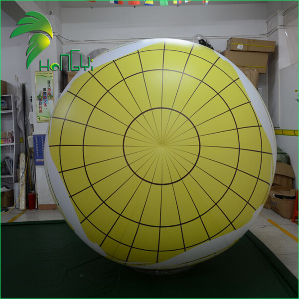 Commercial Customized Inflatable Parade Balloons / Floating PVC Helium Round Ball For Promotional Event