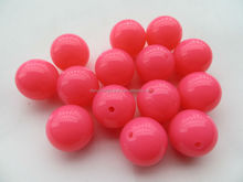 Bulk 12mm fashion acrylic solid Neon beads! Acrylic Fluorescence Chunky Beads wholesales!!