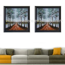 Wholesale Frame Forest Modern Landscape Paintings on Glass
