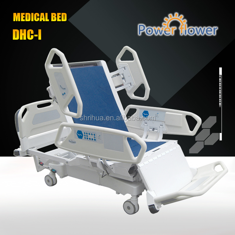 DHC-I Eight-function used electric hospital bed CE ISO cheap medical equipment with CRP function