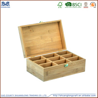 eco-friendly natural color wooden essential oil storage box for hot sale