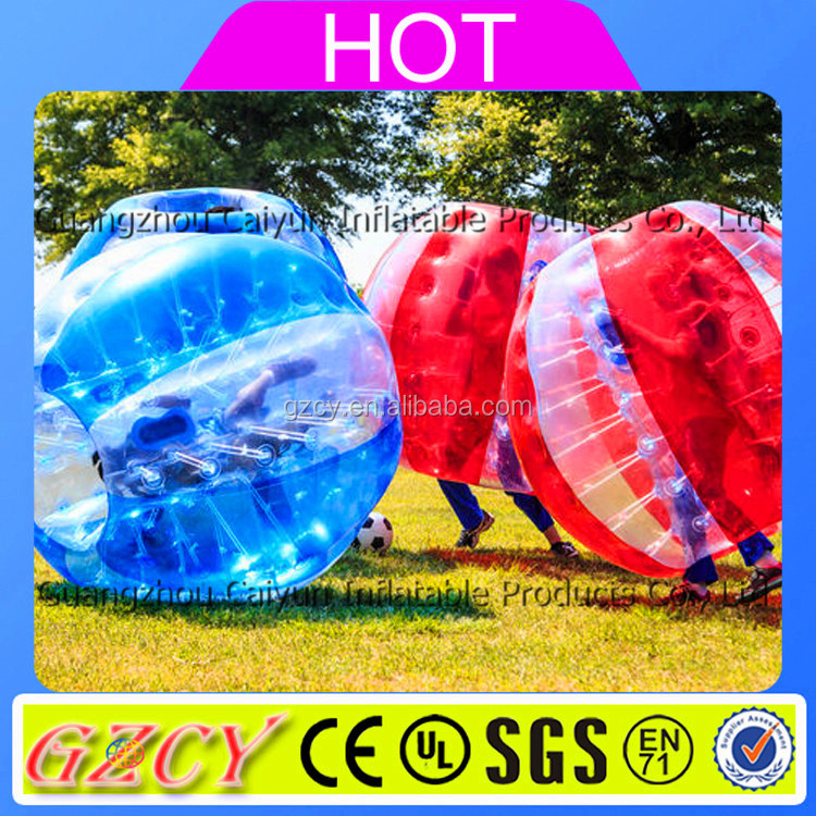 2016 Hot Bubble Football / Soccer, Inflatable Giant Outdoor Play Ball Bubble Soccer Ball For Sale