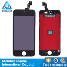 Alibaba china Grade AAA with firm frame low cost touch screen mobile phone screen for iphone 5c lcd