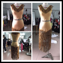 Nueva pocahontas native american indian ladies fancy dress halloween costume