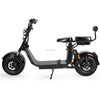80km Removable Double Battery Citycoco two wheels electric scooter for sale Ecorider E5-10