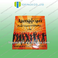 Jamaican 3g spice packaging bag