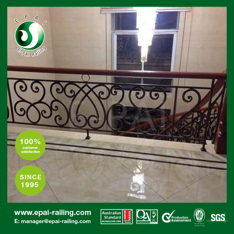 outdoor wrought iron railing wrought iron handrail for deck