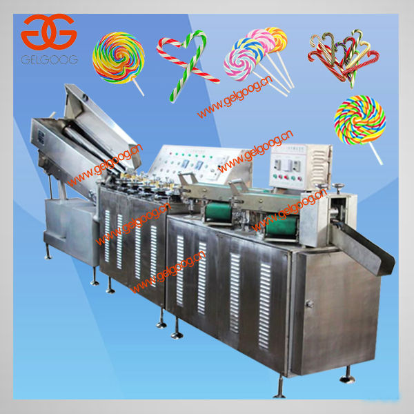 Candy Cane Processing Line|Crutch Lollipop Making Plant|Candy Cane Machines