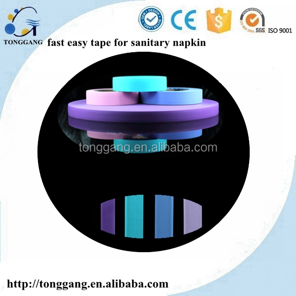 Sanitary Napkin raw material Fast Easy Tape