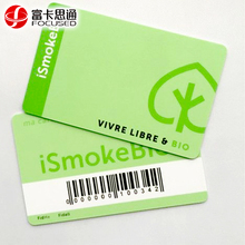 Custom Colorful IC Smart NTAG213 NFC PVC Contactless Barcode Smart Cards