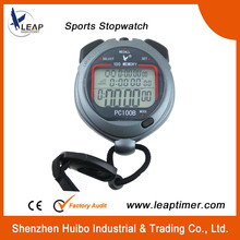 High-quality large screen 1/100 seconds racing stopwatch