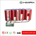 li ion 18650 Battery 24V 10Ah for ebike with BMS