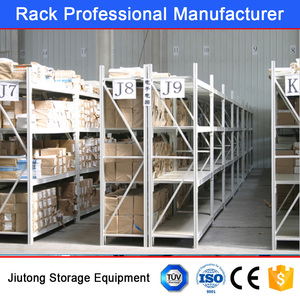 CE Certificated Metal Rack/Long Span Plate Shelf for Industries Warehouse Storage