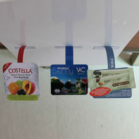supermarket shelf promotional wobblers made of PP/PVC/PET